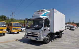 国六福田奥铃CTS宽体4.2米冷藏车图片