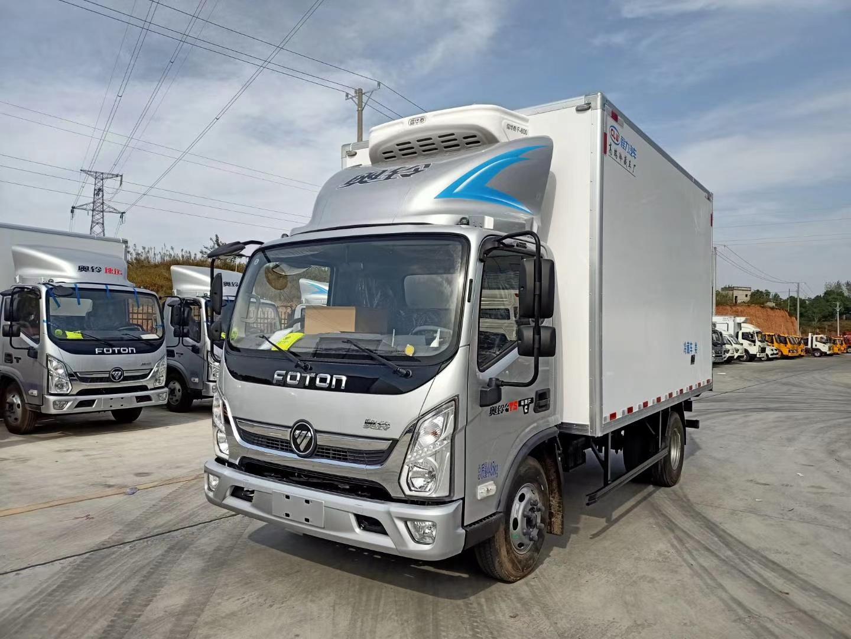 国六福田奥铃CTS宽体冷藏车图片