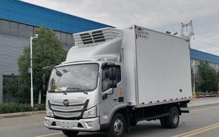 国六福田欧马可S1宽体4.2米冷藏车156马力图片