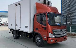 国六福田欧马可S3冷藏车156马力4.2米图片