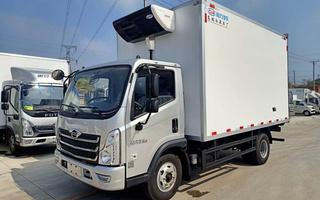 国六福田时代领航6冷藏车4.5米图片