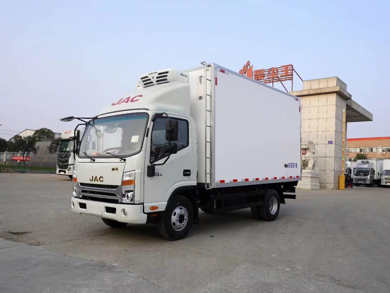 国六江淮帅铃Q6冷藏车4.2米图片