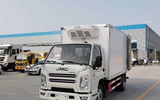 国六江铃顺达4.2米冷藏车图片