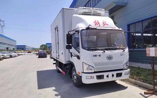 国六解放J6F冷藏车4.2米图片