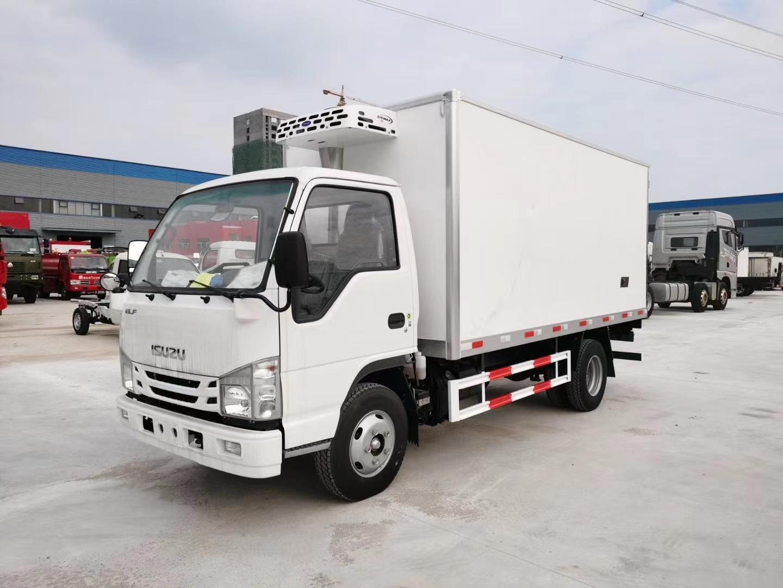国六庆铃五十铃100P冷藏车4.2米