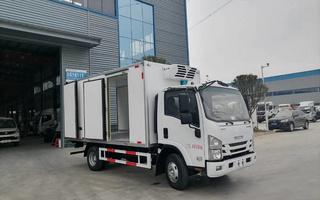 国六庆铃五十铃KV100冷藏车4.2米图片