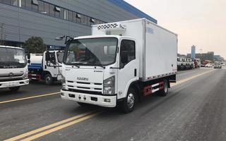 国六庆铃五十铃KV600冷藏车4.2米图片