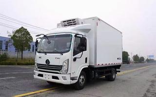 国六陕汽德龙K3000冷藏车130马力4.2米图片