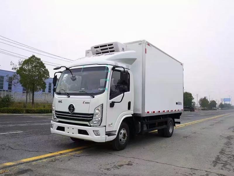 国六陕汽德龙K3000冷藏车130马力4.2米
