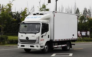 国六陕汽德龙K3000冷藏车160马力4.2米图片