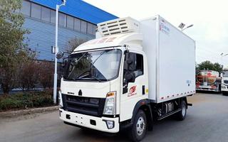 国六重汽豪沃4.2米冷藏车图片