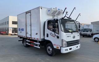 一汽解放虎VN冷藏车4.2米图片