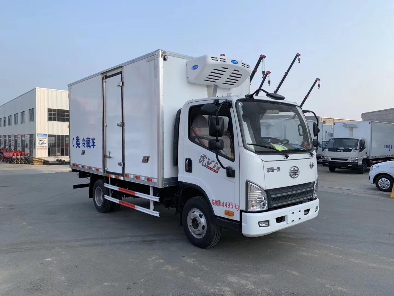 一汽解放虎VN冷藏车4.2米
