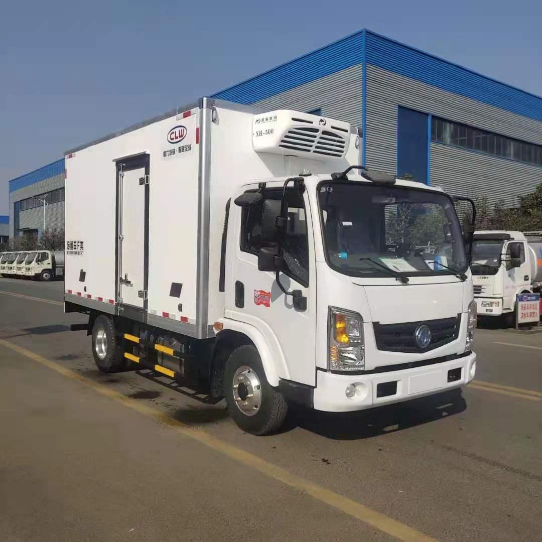 东风新能源4.2米冷藏车图片