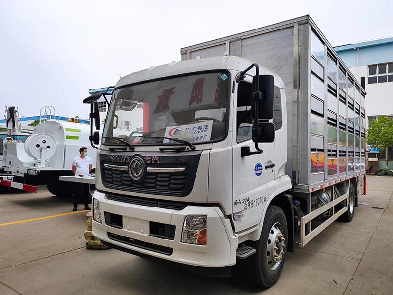 程力6.8米恒温运猪车发往河南图片