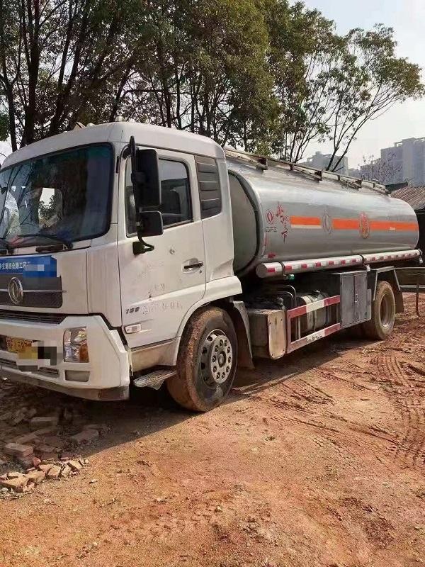 低价出售 二手10吨天锦油罐车满载14吨手续齐全  视频视频