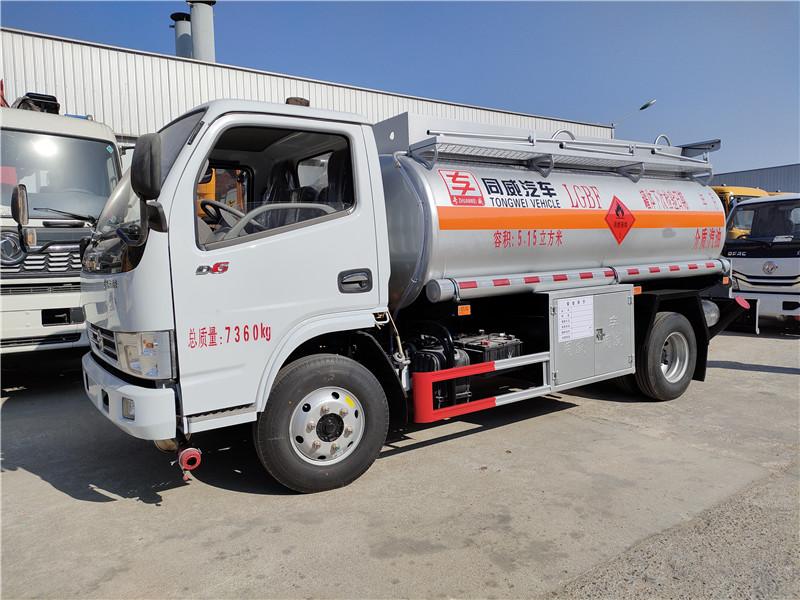东风5吨加油车生产厂家现车直销 5吨油罐车价格 视频视频