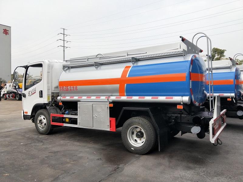 解放5吨油罐车厂家直销 物优价廉 一线加油车 图片视频视频