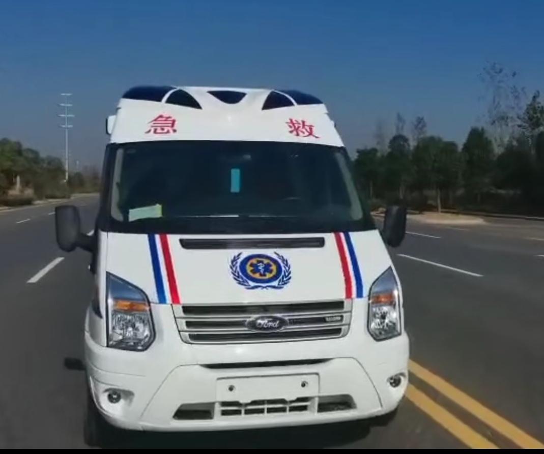 江铃福特V348救护车厂家直销价全部现车视频