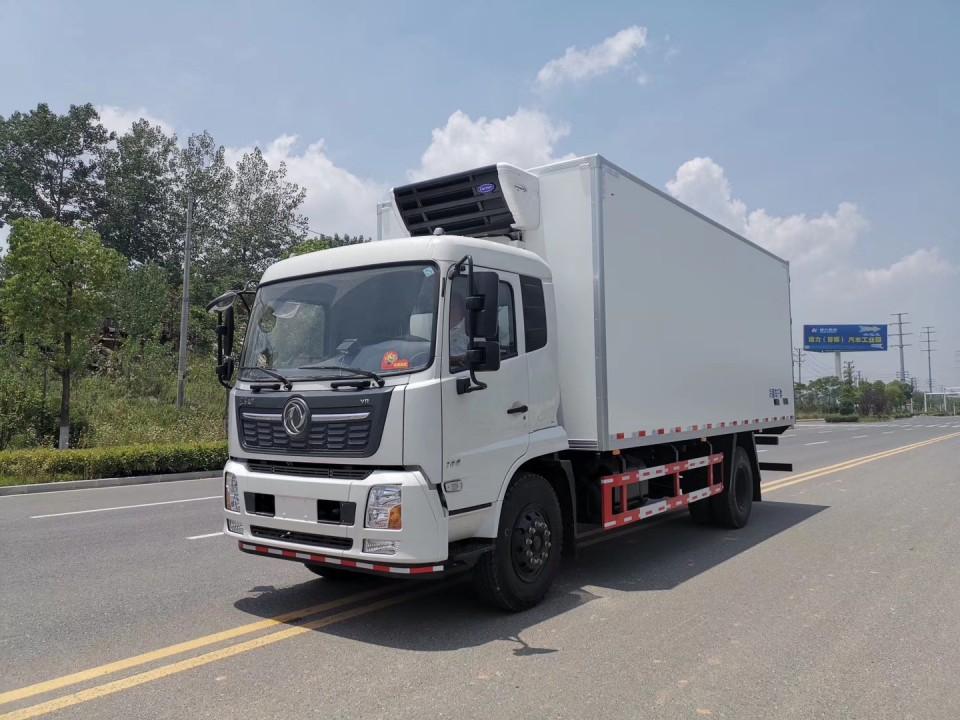 国六东风天锦VR6米8冷藏车