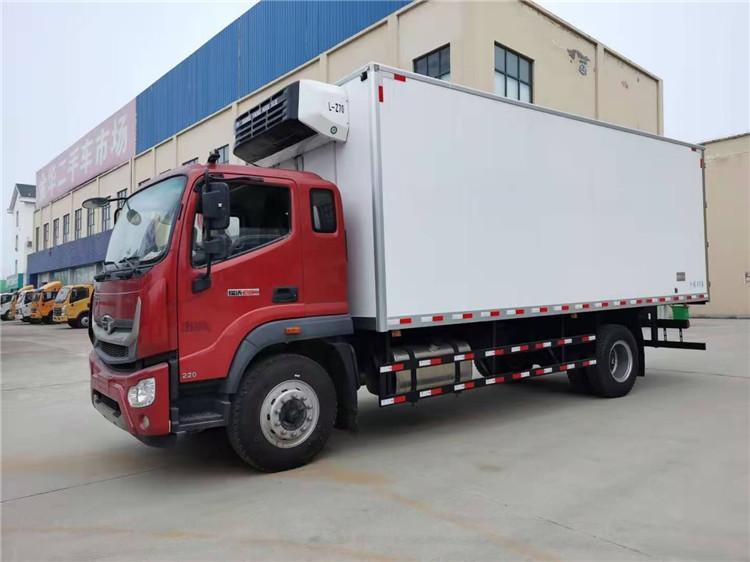 国六福田瑞沃ES5冷藏车6米8