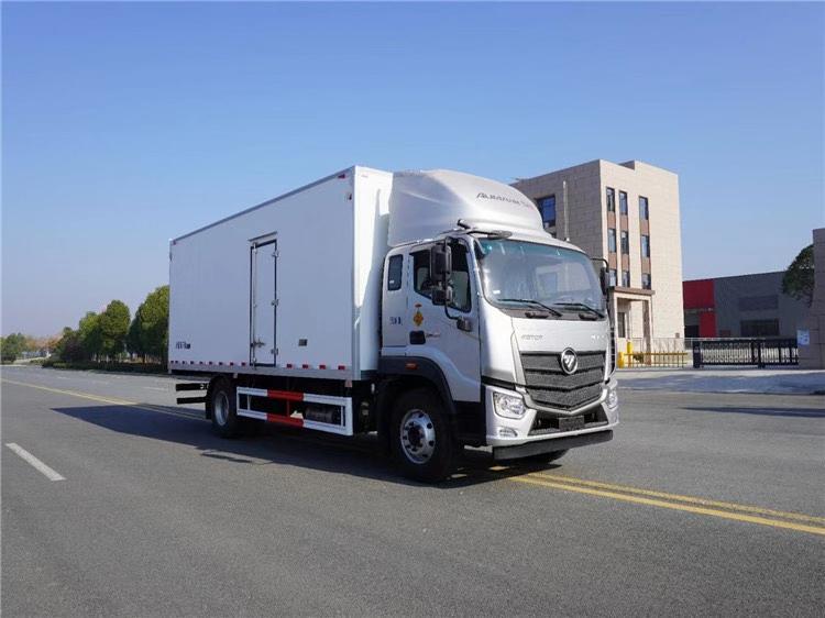 国六欧马可S5冷藏车6米8