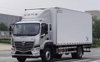 国六欧马可S5冷藏车6米8图片