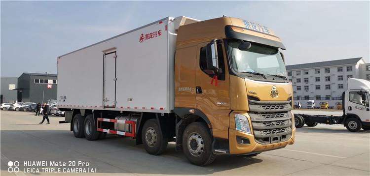 国六柳汽乘龙H7前四后八冷藏车(9.4米)