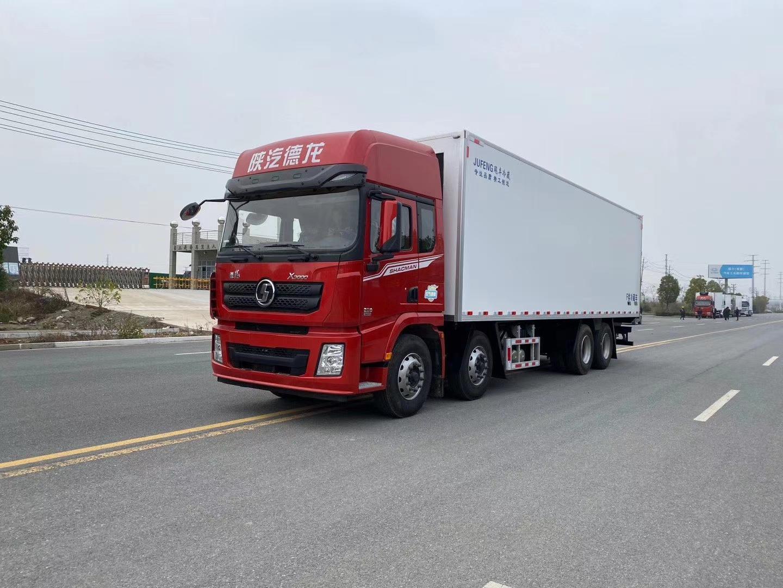 陕汽德龙X3000冷藏车9米6