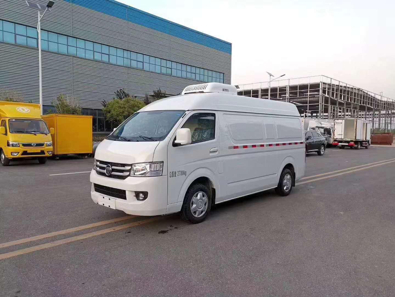 国六福田G7面包冷藏车
