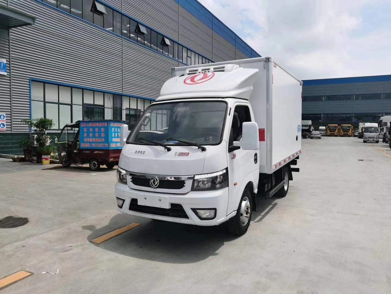 国六东风途逸冷藏车3.5米