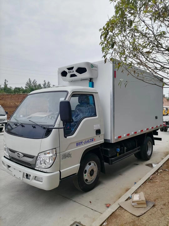 福田国六小卡之星3冷藏车3米5