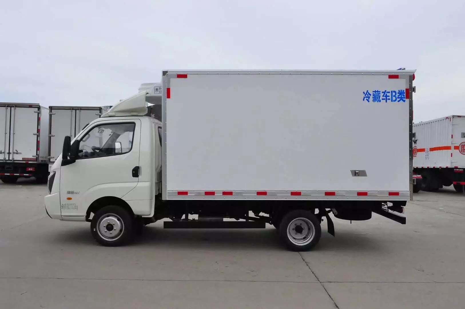 国六飞碟締途冷藏车3米5