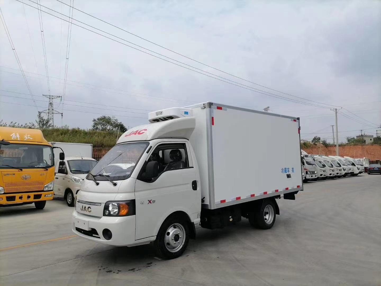 国六江淮康玲X5冷藏车3.5米