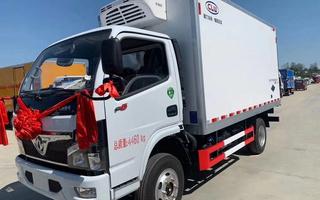 国六东风福瑞卡F6冷藏车4.2米图片