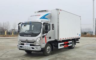 福田奥铃CTS5米1排半冷藏车图片