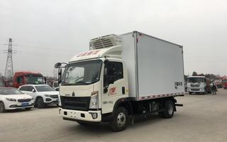 国六重汽豪沃130马力冷藏车4米2图片