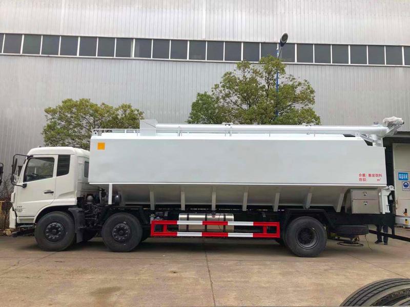 东风15吨散装饲料车生产厂家报价