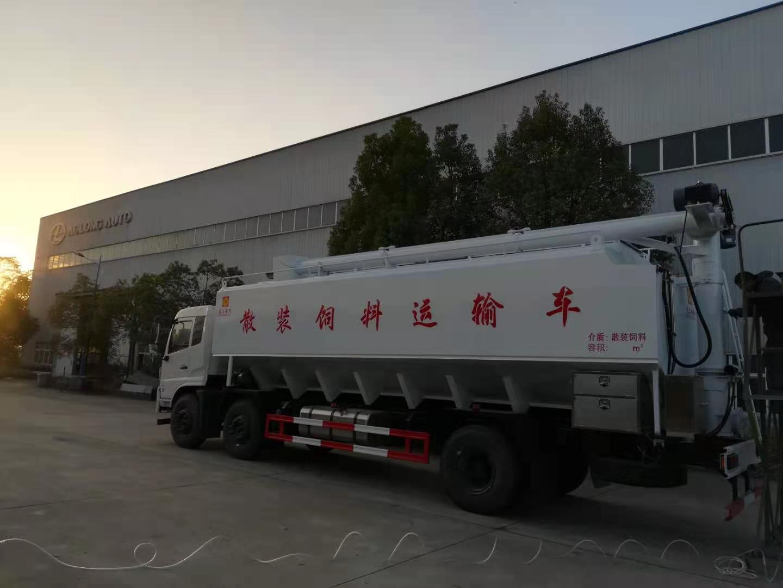 广西河池前四后四15吨拉猪饲料车价格,厂长笔记51