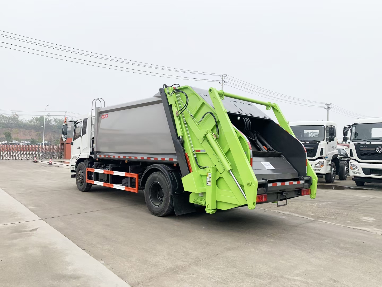 国六东风天锦压缩垃圾车