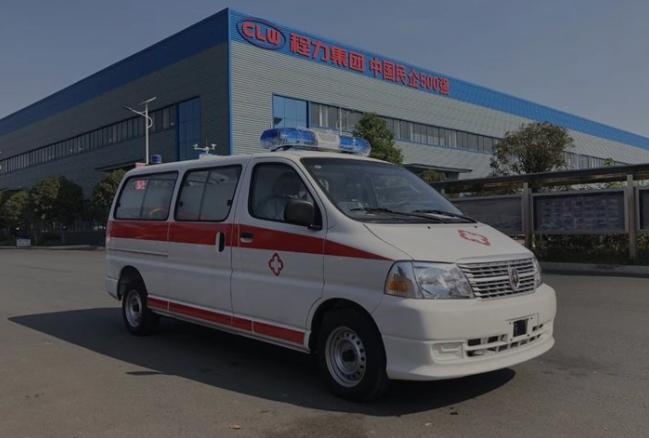 程力V362救护车报价 配置 图片 厂家