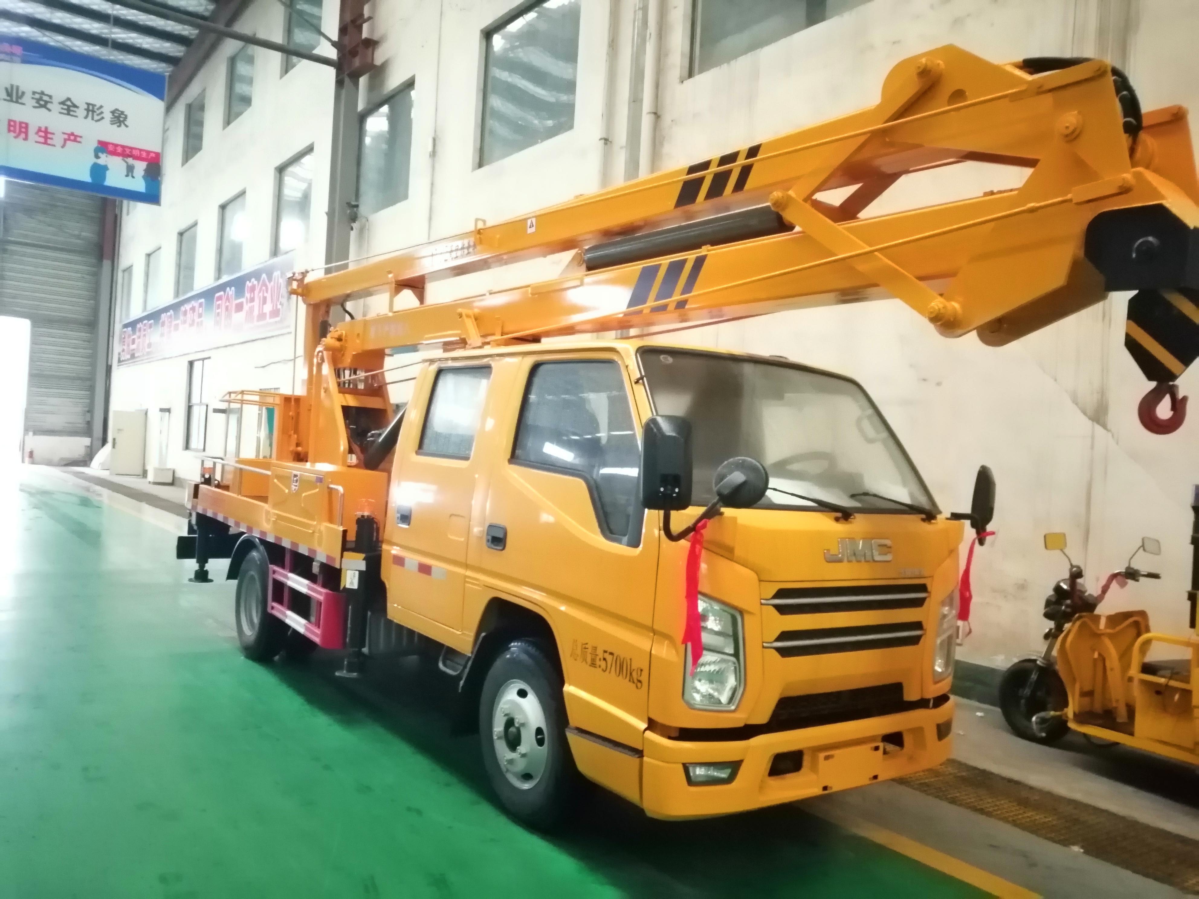 江铃17.5米高空作业车视频