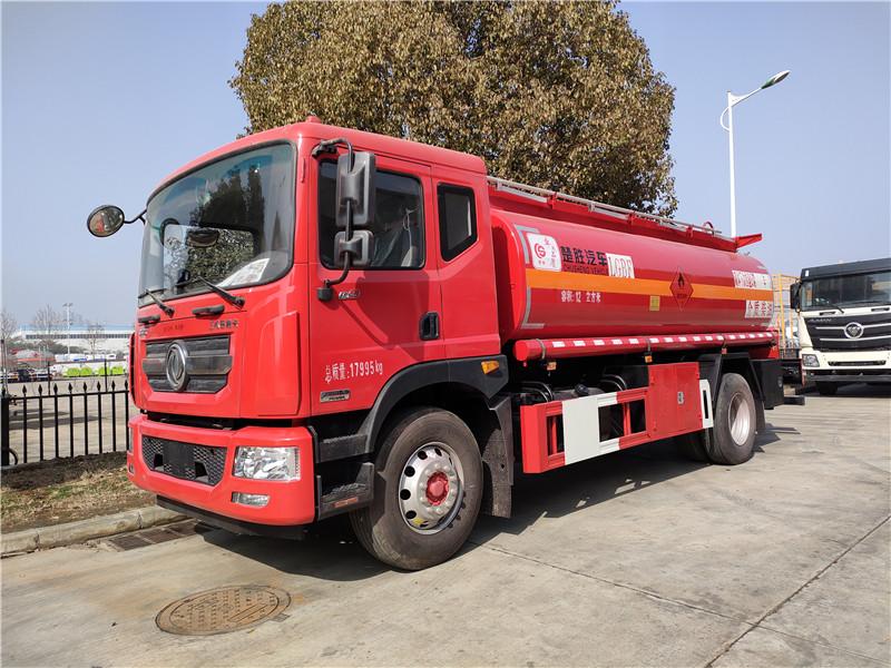 东风D9单桥满载12吨油罐车参数报价配置图片图片