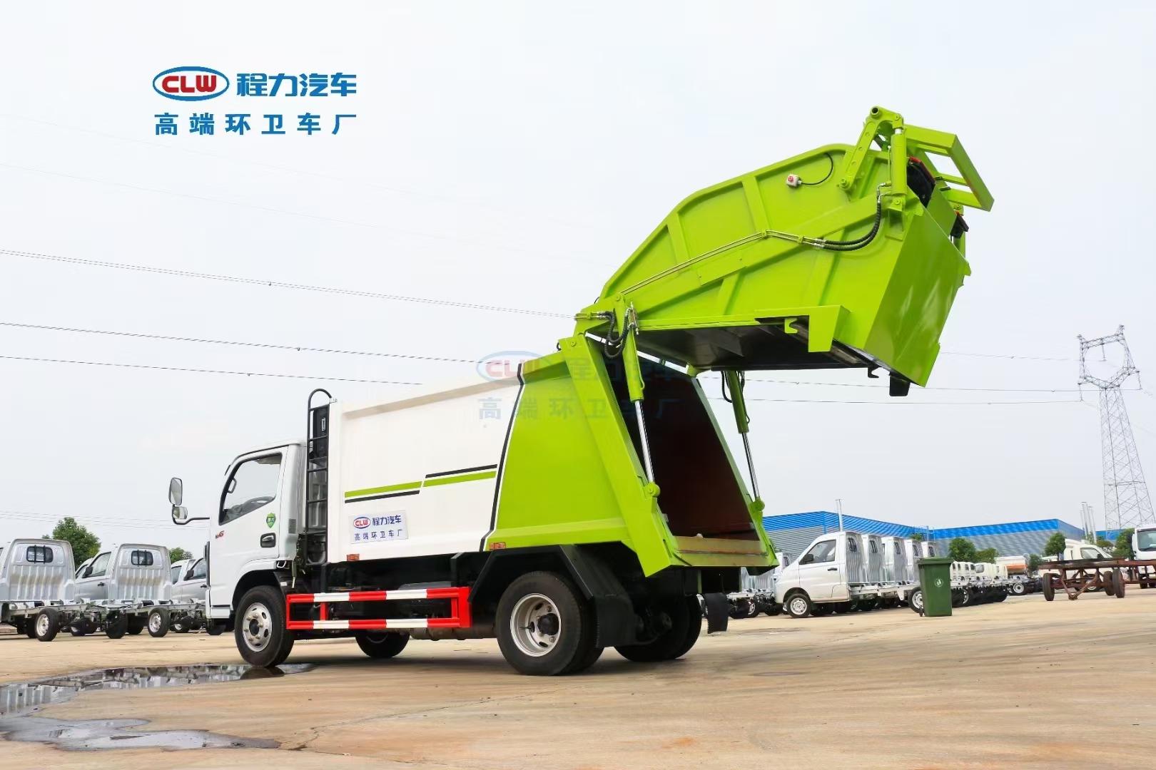 東風小多利卡6方壓縮垃圾車  廠家報價圖片