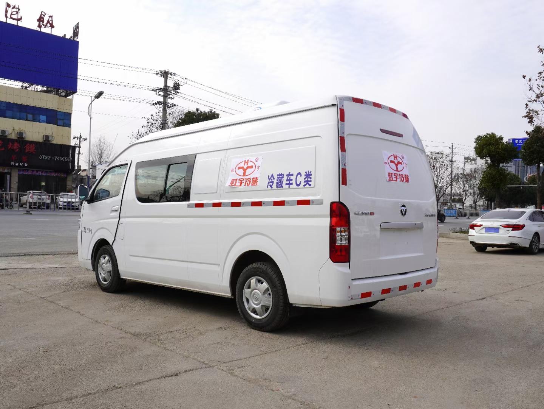 福田G9双排冷藏车厂家图片