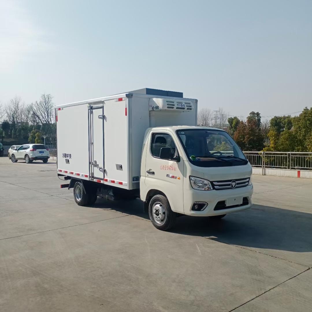 国六福田祥菱M2冷藏车3.7米图片