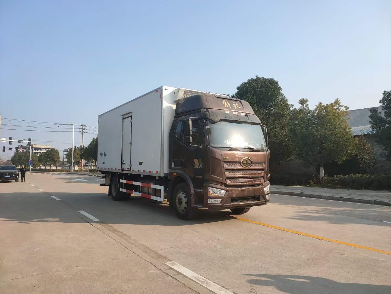 解放J6L冷藏车6米8精英版图片