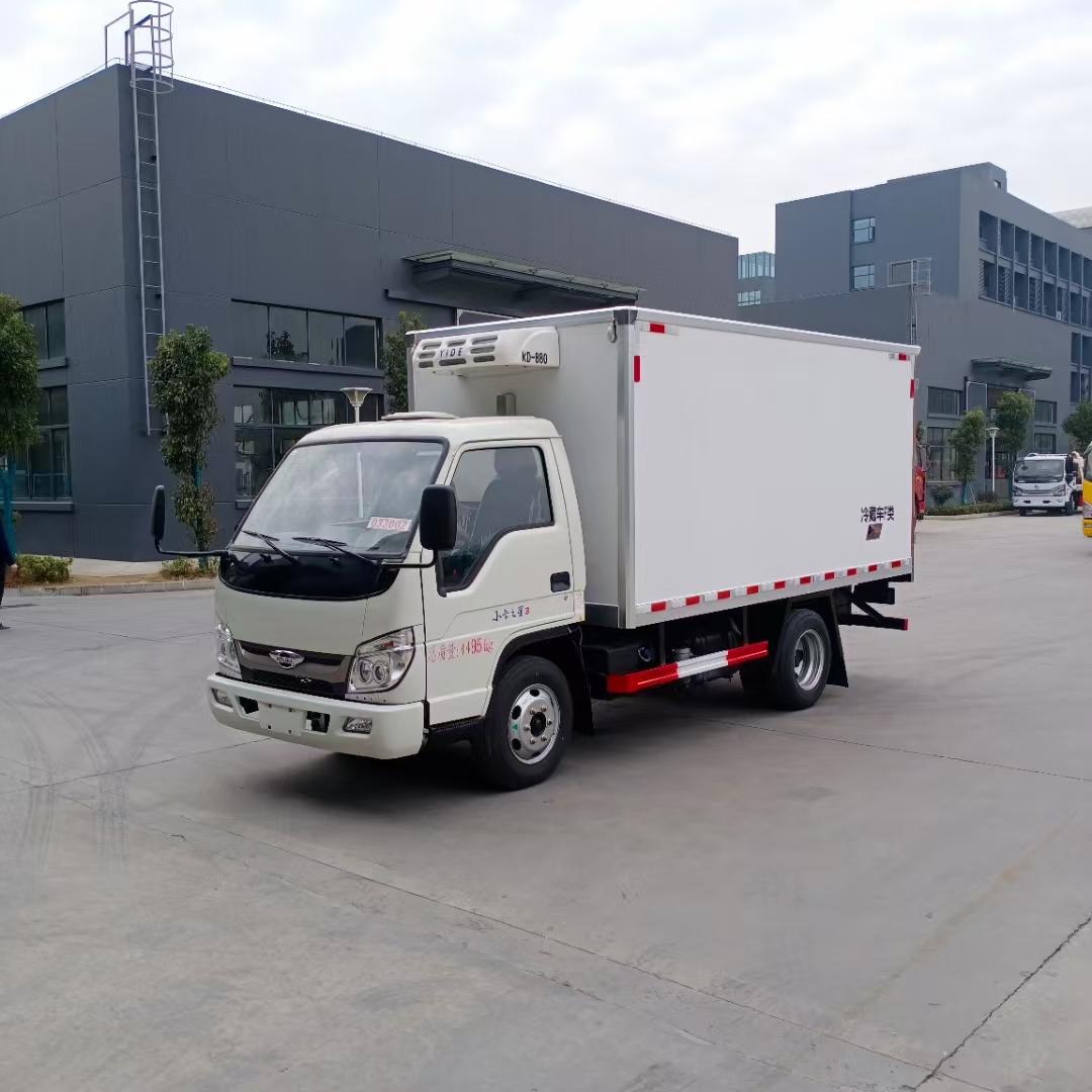 福田国六小卡之星3冷藏车3米5图片