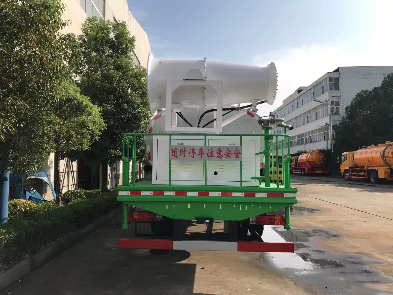 国六解放J6L多功能抑尘车图片