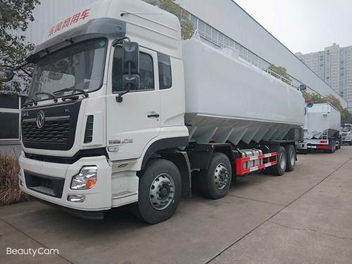 铝合金生产厂家 散装饲料运输车  15吨散装饲料运输车